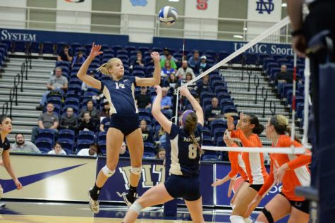 Pitt volleyball splits a pair of weekend road matches