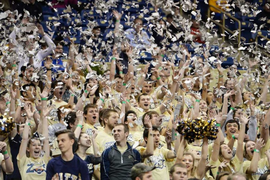 Fans+will+pack+the+Oakland+Zoo+for+Pitt+men%27s+basketball%27s+home+opener+at+the+Petersen+Events+Center+Nov.+11.