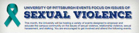 Pitt announces sexual violence awareness month