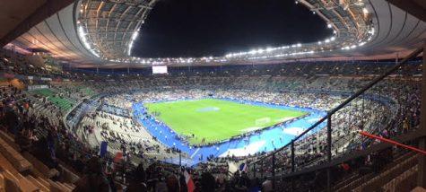 The Stade de France before bombings outside of the Stadium in Paris on Thursday. Courtesy of