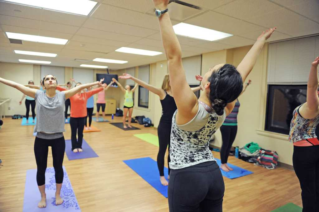 Bikram yoga has become a controversial title because of recent events.  Meghan Sunners | Senior Staff Photographer