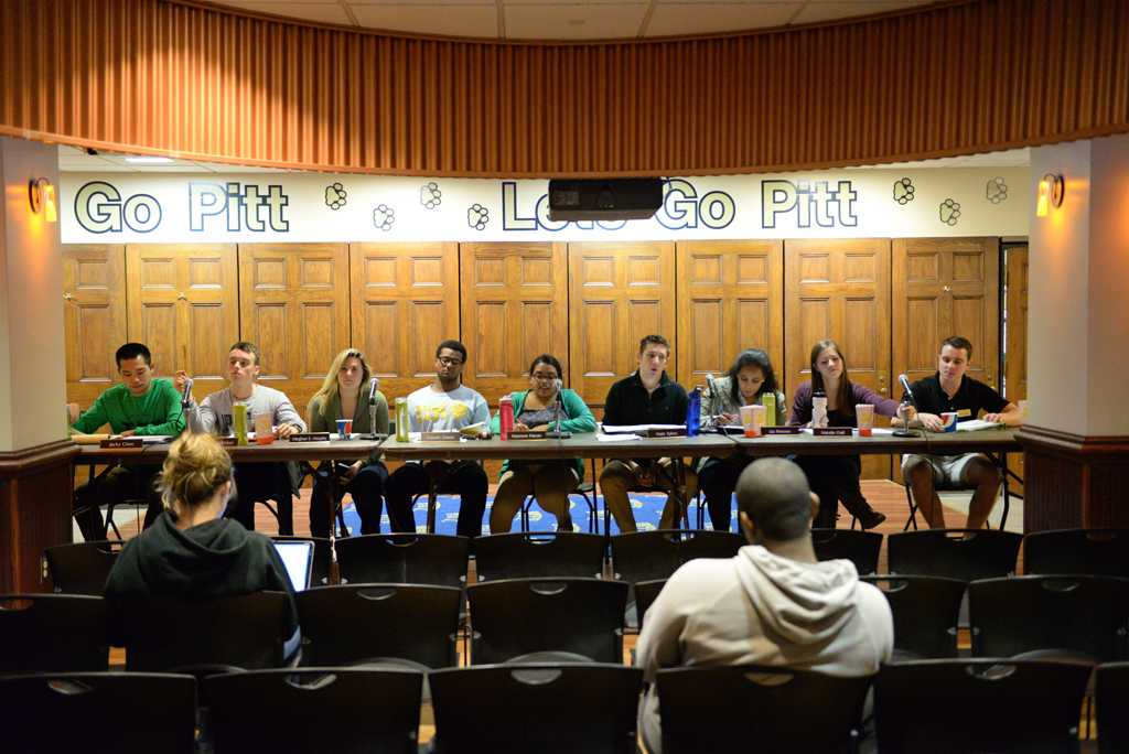 The Pitt News looks back on Student Government Board throughout the semester.  Wenhao Wu | Staff Photographer