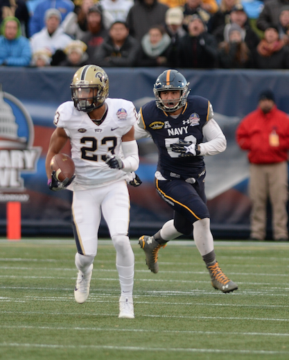 Tyler Boyd leaves Pitt as the program's all-time leading receiver Nikki Moriello | Visual Editor