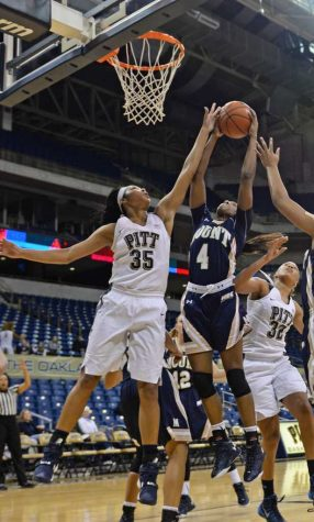 Pitt women's basketball roll over Mount St. Mary 74-57