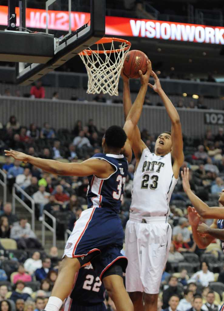 Pitt takes on Duquesne in the City Game Friday at 7pm at the Consol Energy Center.  TPN File Photo