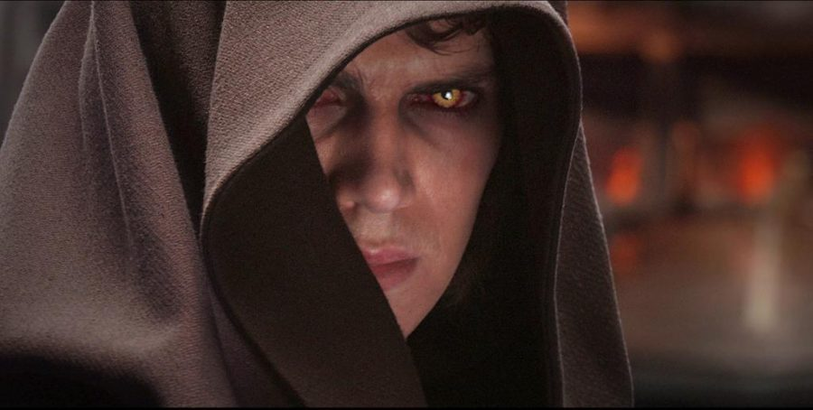 KRT WHAT'S NEXT STORY SLUGGED: TRIVIA KRT HANDOUT PHOTOGRAPH (May 10) Anakin Skywalker (Hayden Christensen) turns to the dark side of the Force in