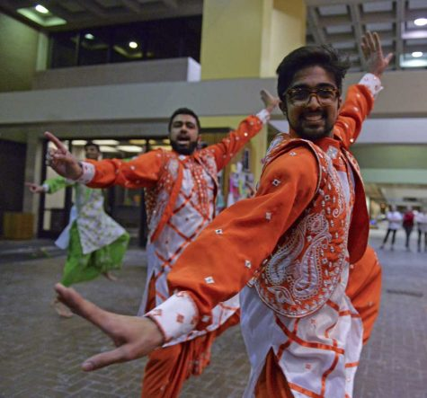 Photo essay: Pittsburgh's First Class Bhangra performs at Pitt