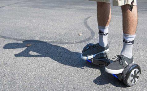 Pitt bans hoverboards