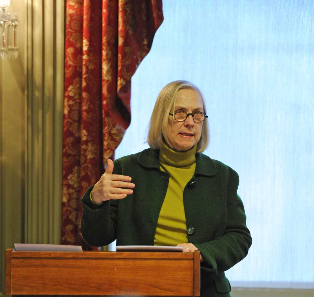 Gender, Sexuality, and Women's Studies visting Scholar, Patricia Ulbrich, presented the lecture