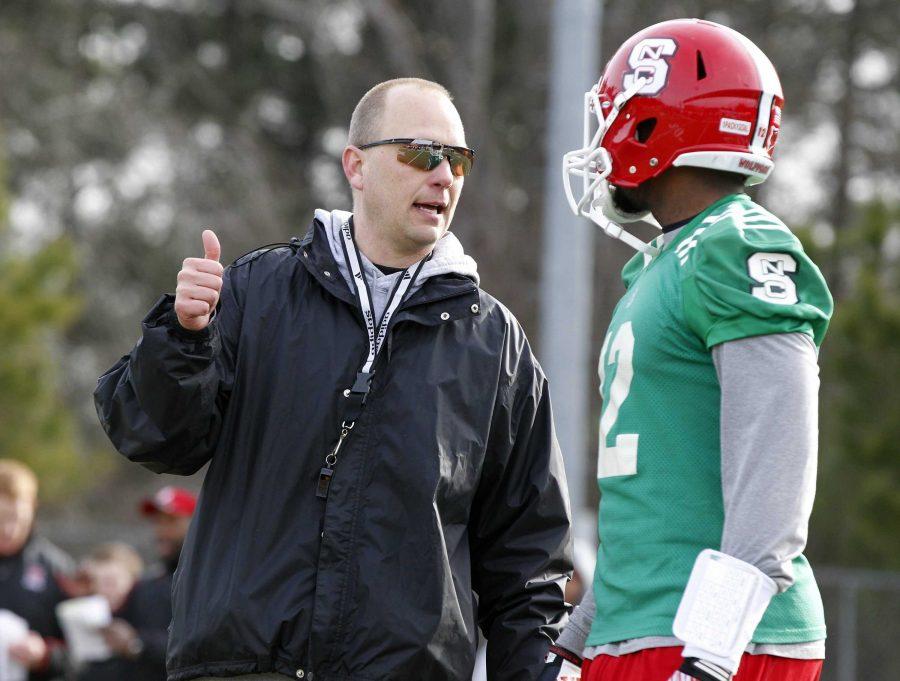 Matt+Canada+will+join+Pitt%27s+football+coaching+staff.+TNS