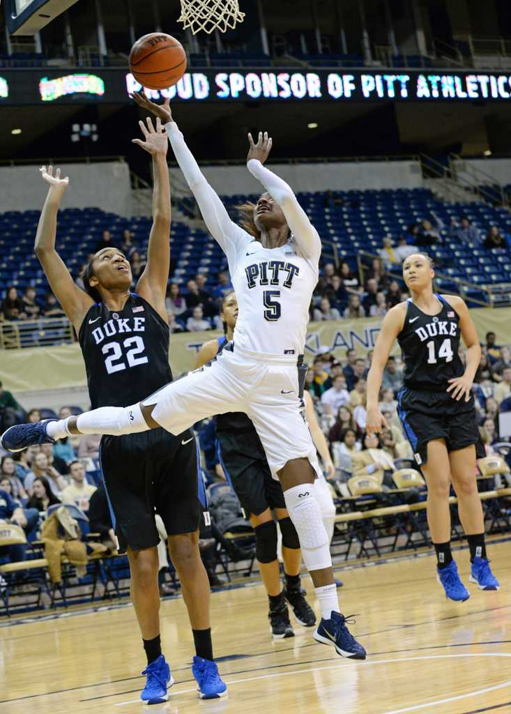 Pitt was unable to win their second conference game of the year Thursday night.  Jeff Ahearn | Assistant Visual Editor