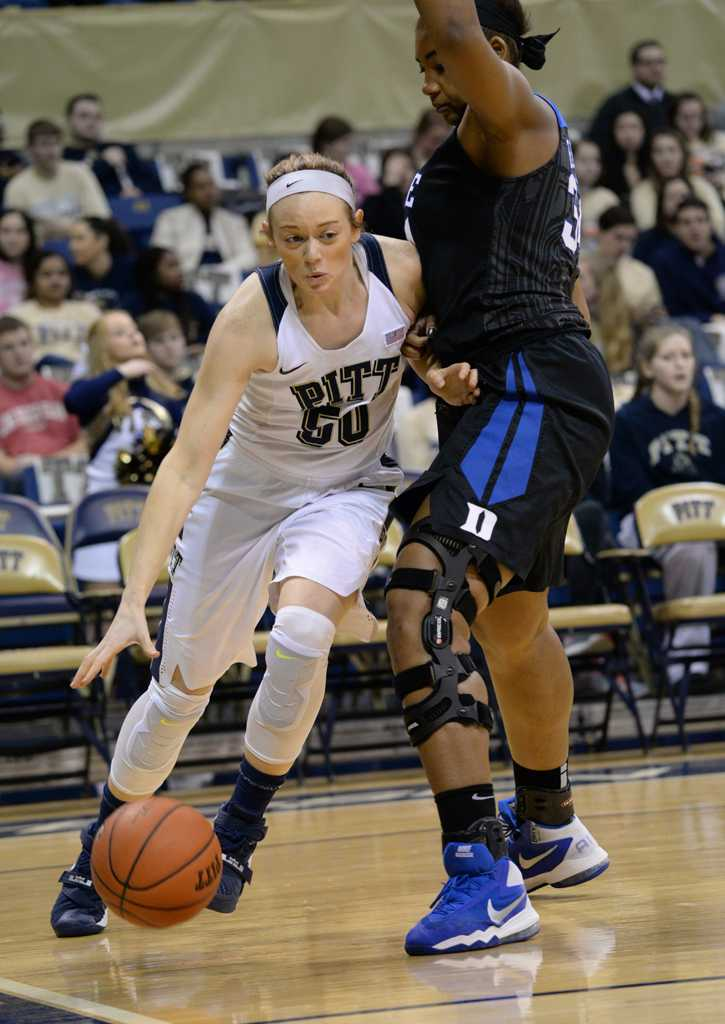 Brenna Wise (50) brought in 9 points before fouling out in Sunday's game.  Jeff Ahearn | Assistant Visual Editor