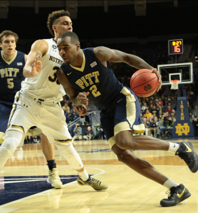 Michael Young led Pitt with 25 points on Saturday. Nikki Moriello | Visual Editor
