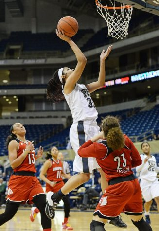 Women's basketball loses ninth conference game at hands of No. 12 Louisville