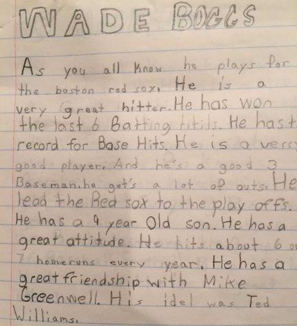 Young Post-Gazette reporter Brady McCollough's early sports profiles. | Courtesy of Brady McCollough