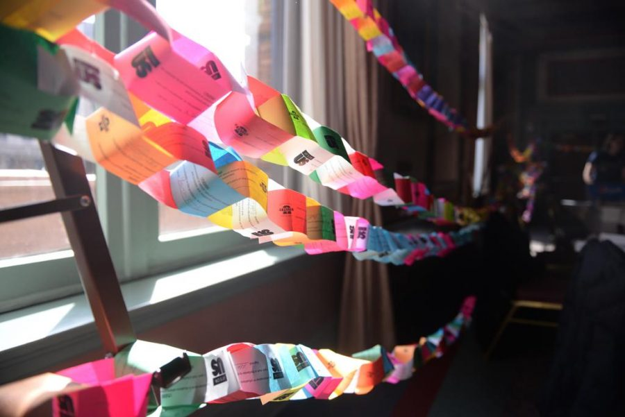 %22It%27s+On+Us%22++paper+chain+on+display+at+the+unveiling+event+Monday.++Donny+Falk+%7C+Staff+Photographer