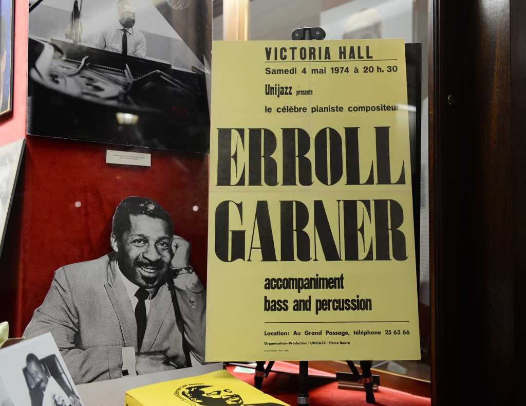 The Erroll Garner display recently opened in the William Pitt Union | Staff Photographer
