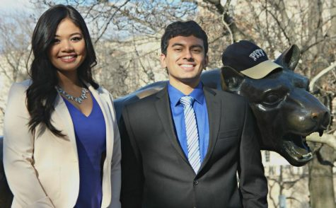 Alyssa Laguerta (left) and Rohit Anand (right) are running for open positions on the board.  (Coutesy of Rohit Anand)