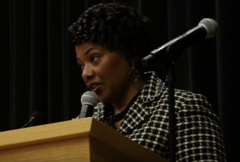 Video: Bernice King Visits Pitt