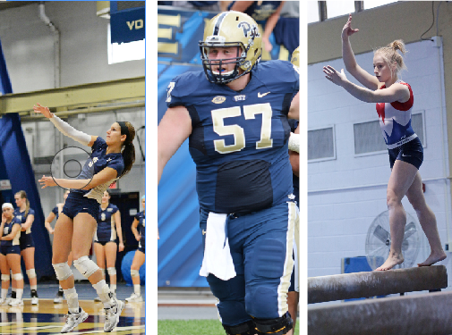 The ACC awarded three Panthers postgraduate scholarships | Photos courtesy of Jeff Ahearn and Nikki Moriello