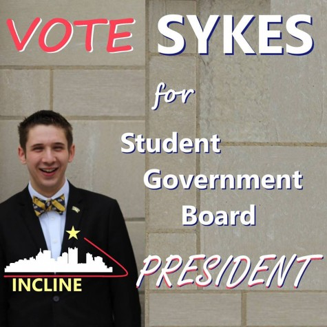 Matt Sykes is running for an open position on the board. (Courtesy of Matt Sykes)