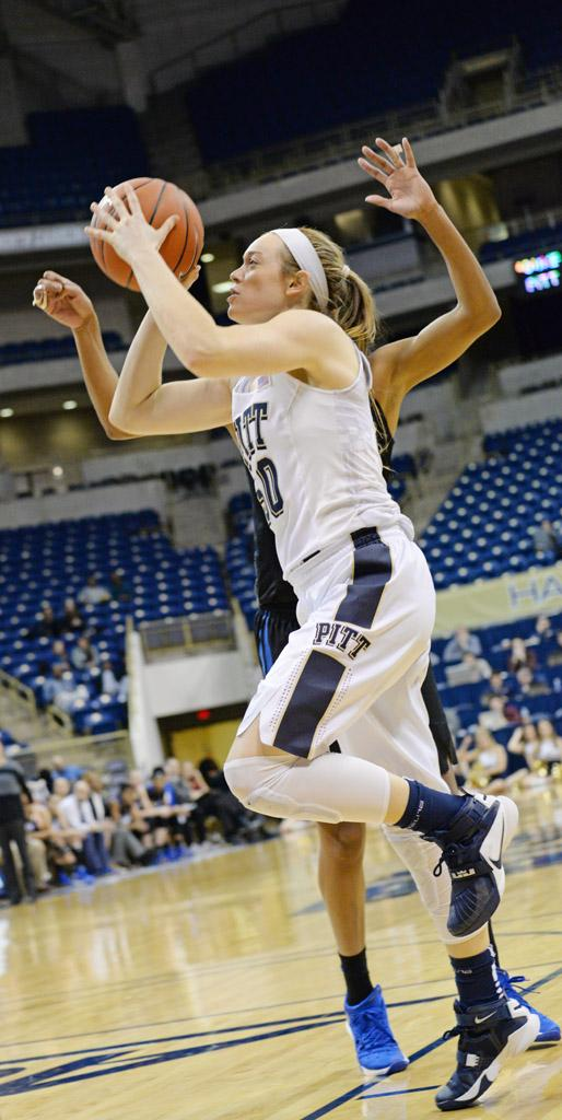 Brenna Wise was the Panthers' second leading scorer Sunday afternoon. Jeff Ahearn | Assistant Visual Editor