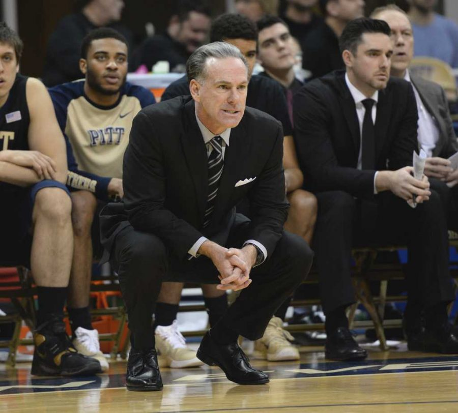 Jamie Dixon looks on as his team struggles.  Jeff Ahearn | Assistant Visual Editor