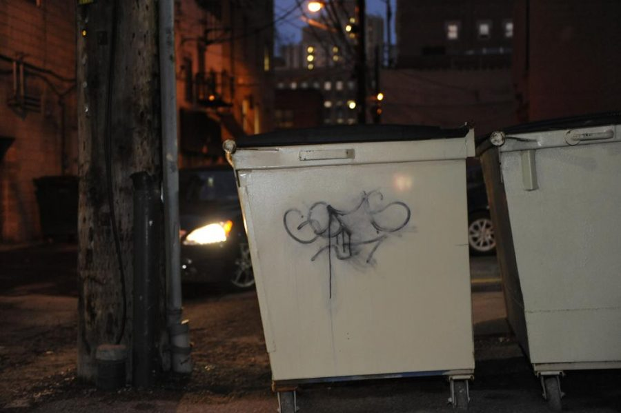 The+Pittsburgh+Police+graffiti+squad+arrested+Max+Gonzales+Monday+morning.++Jeff+Ahearn+%7C+Assistant+Visual+Editor