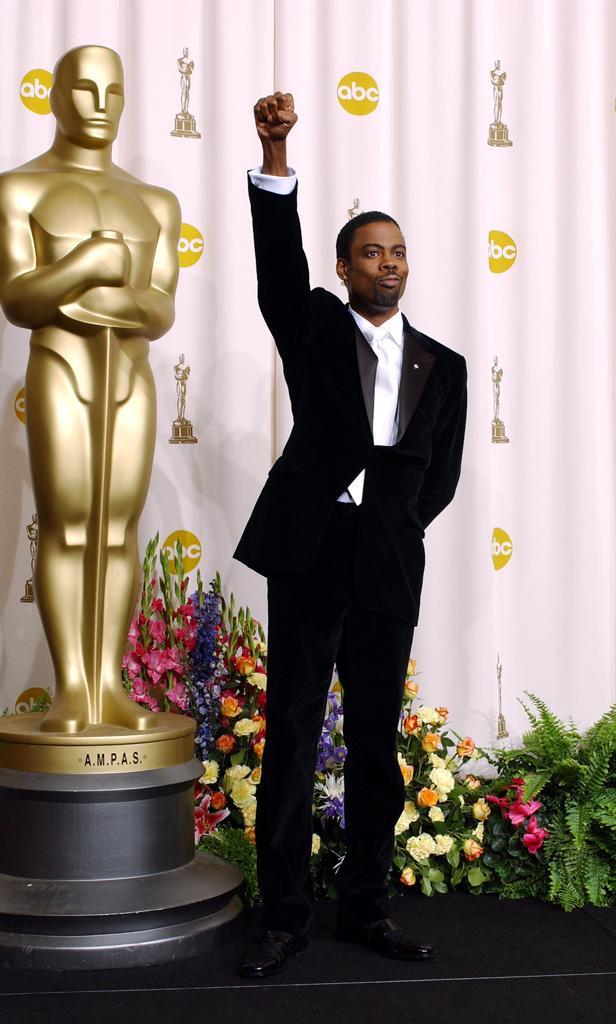 Chris Rock at the Academy Awards | TNS