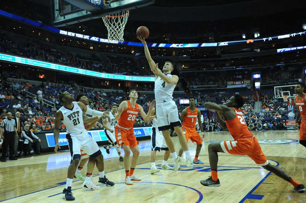 Pitt took on Syracuse in the second round of the ACC tournament on Wednesday in Washington DC.  John Hamilton | Staff Photographer