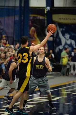 Gallery:  Steeler's vs. Pitt Students Basketball Game