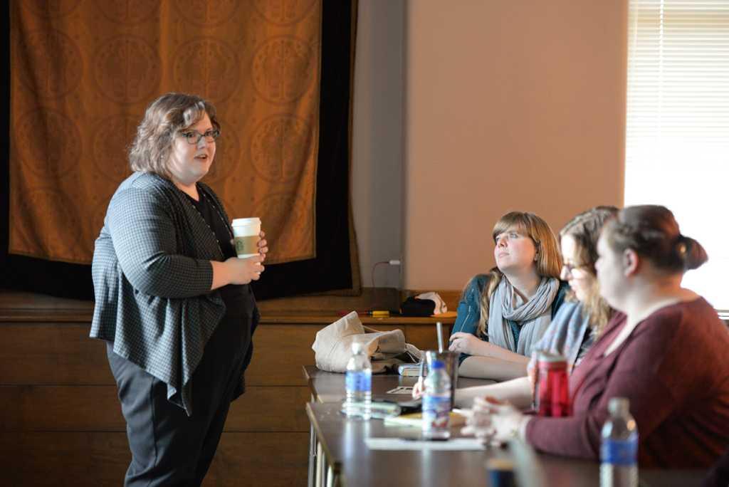 Deborah Harris, associate professor at Texas State Univesity presented