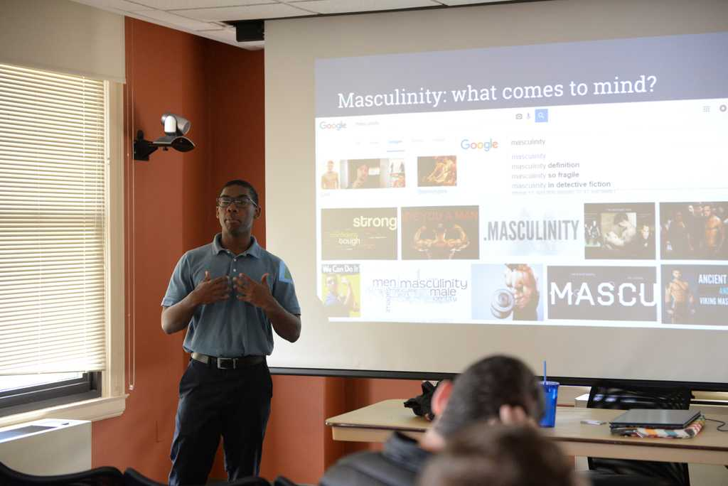 Lectures were held as part of Healthy Masculinity Week.  Will Miller | Staff Photographer