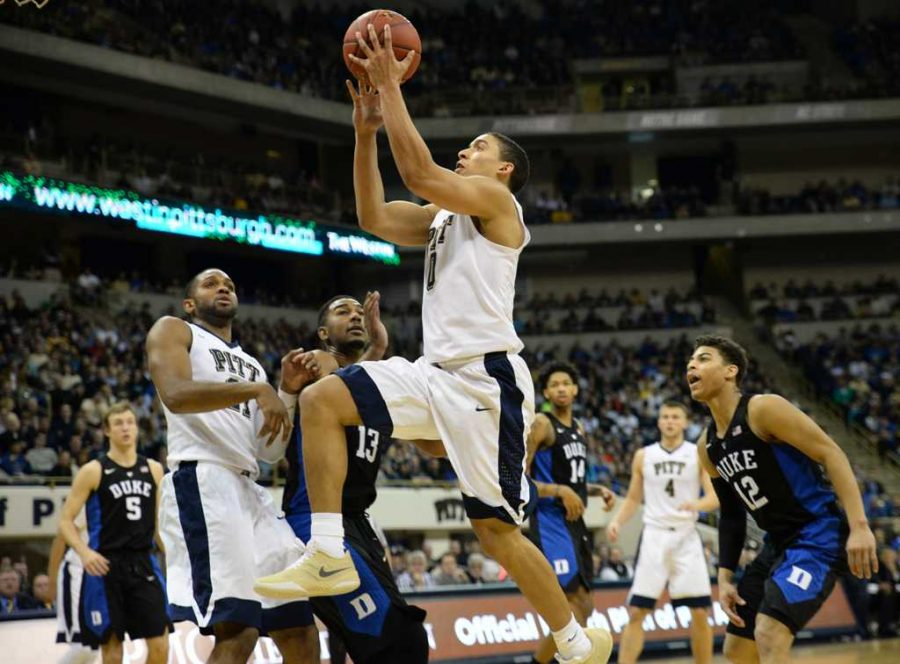 Robinson going for a layup.  Jeff Ahearn | Assistant Visual Editor