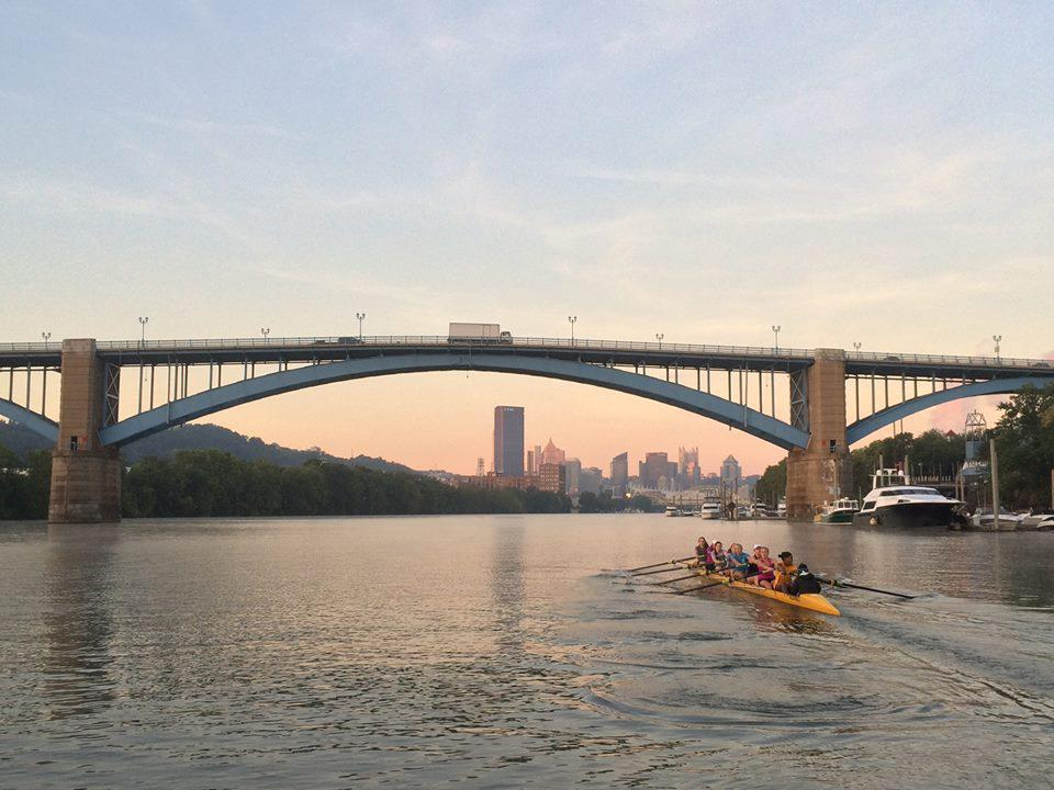 (Photo Courtesy of University of Pittsburgh Club Rowing Team)