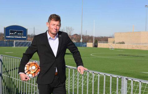 Jay Vidovich looks to rebuild Pitt's struggling men's soccer team. | Photo courtesy of Pitt Athletics