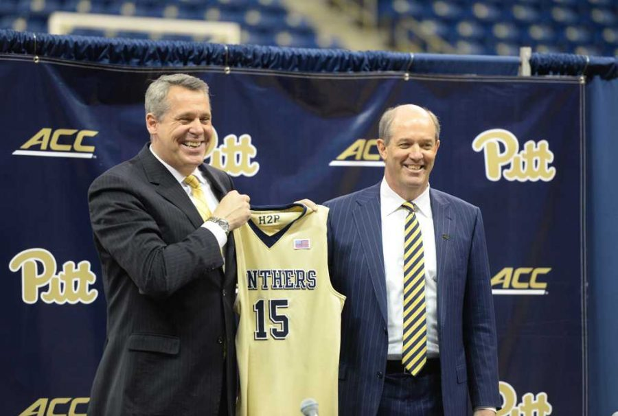 Pitt%27s+first+ACC+matchup+under+new+head+coach+Kevin+Stallings+comes+against+Notre+Dame+at+the+Petersen+Events+Center+on+New+Year%27s+Eve.++Matt+Hawley+%7C+Staff+Photographer