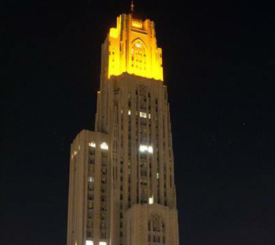 Cathedral lighting up for high grades