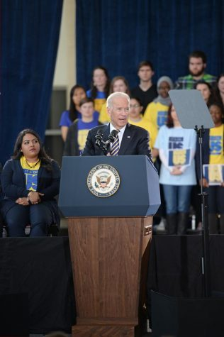 Vice President Joe Biden Visits Pitt for It's On Us Campaign