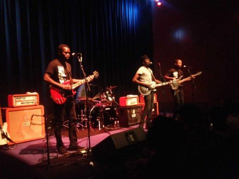 Warhol welcomes Mali rockers Songhoy Blues