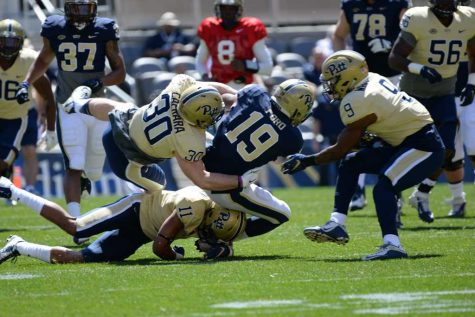 Standout players emerge in Pitt's Blue Gold Game