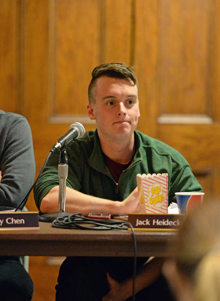 Board member Jack Heidecker withdrew a resolution on Tuesday that would have supported University efforts to make Pitt tobacco free. Will Miller   Staff Photographer