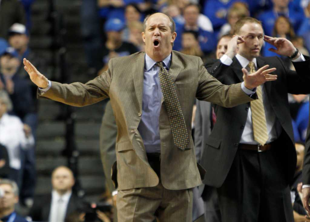 Kevin Stallings announced Pitt's 2016-17 men's basketball schedule in a press release on Tuesday. (TNS)