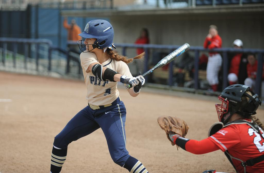 Erin Hershman made First Team All-ACC for Pitt softball. John Hamilton | Staff Photographer