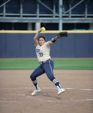 Pitt softball splits doubleheader with Bucknell