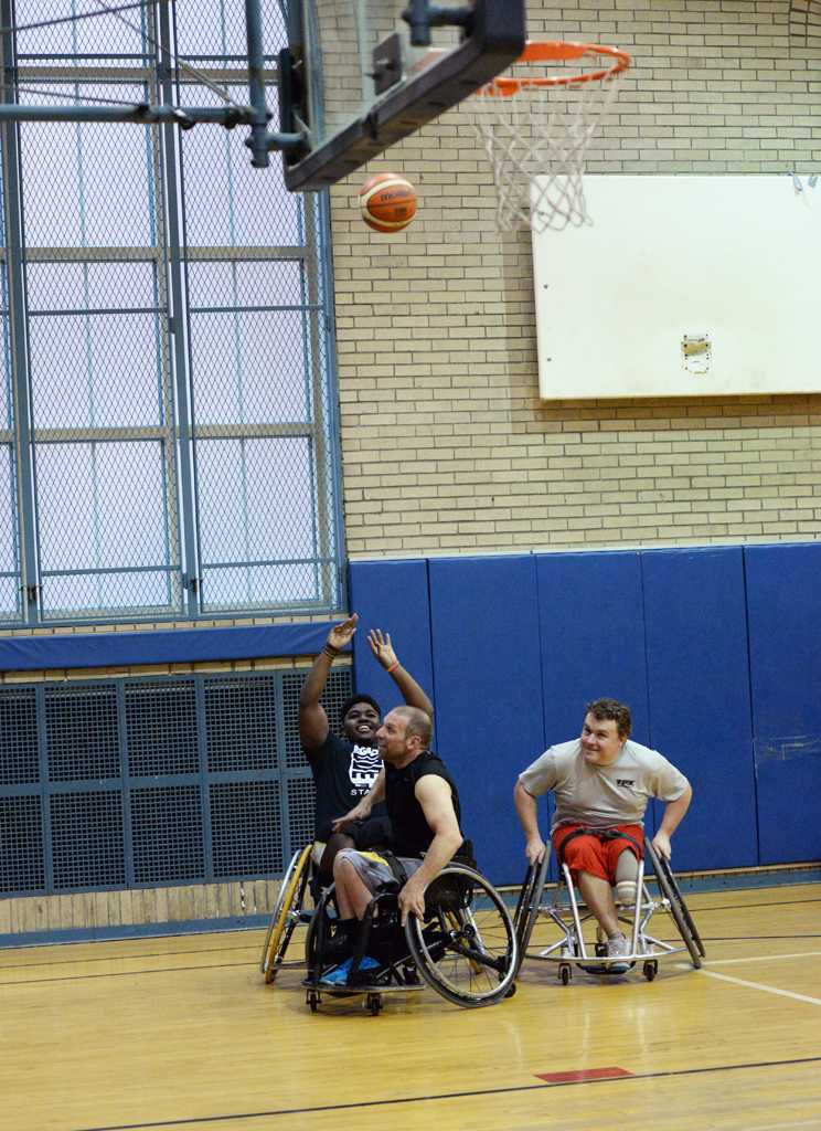 The Steel Wheelers practiced in the Bellfield Hall gymnasium Thursday afternoon. Will Miller | Staff Photographer