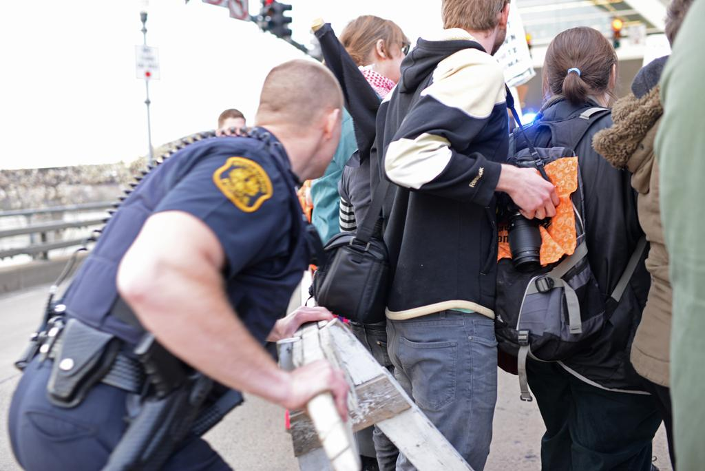 Police secure the area at a past event at the David L. Lawrence Convention Center. Wenhao Wu | Senior Staff Photographer