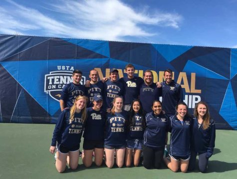 Pitt Club Tennis wraps up season at nationals