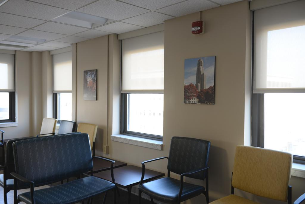 The waiting room of the new walk-in clinic.  Jordan Mondell | Staff Photographer