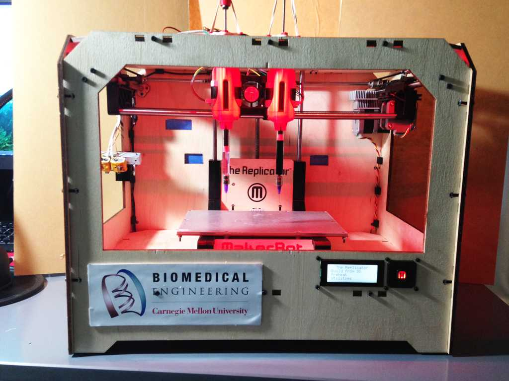 Pitt and CMU researchers use 3D printing to study breast cancer. / Courtesy of Adam Feinberg